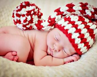 Baby Elf Hat Newborn Photo Prop
