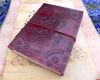 Ganesh Leather Journal Notebook