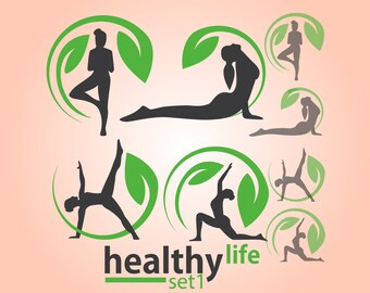 Instant Download Healthy Life Collection Set 1
