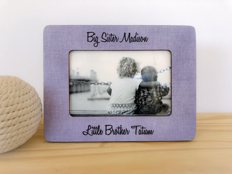 Big Sister Little Brother Frame. siblings frame. Nursery