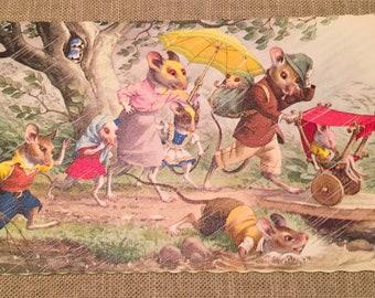 10 Vintage Children's Postcards