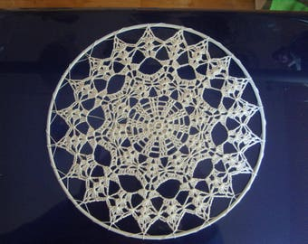 Doily dream catcher for white 15 cm N8