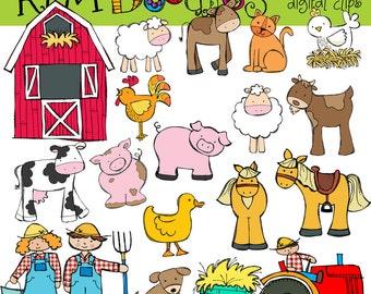KPM On the Farm Digital Clip art