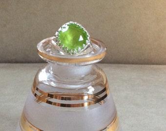 Swarovski Crystal Adjustable Ring