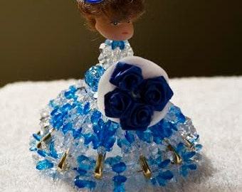 2 Bead Spring Doll Decorations