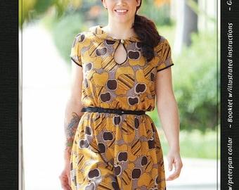 The Miz Mozelle Dress sewing pattern