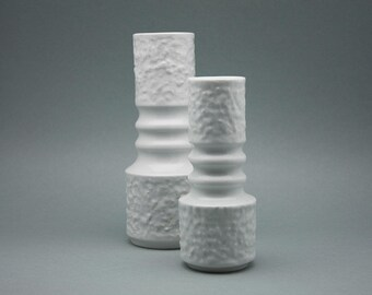 Set of two porcelain vases by Kerafina / Royal Porzellan KPM (Bavaria)