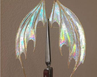 Iridescent Dragon, Demon Wings *Made to Order*