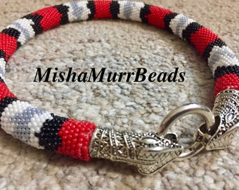 Dairy King Snake Necklace