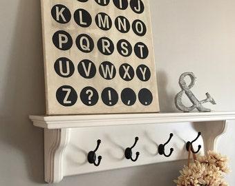 Typewriter Key Print Art