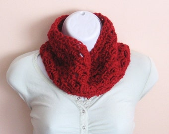 Ruby Red Cowl