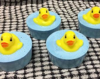 Handmade Kids Rubber Ducky palm free goats milk soaps