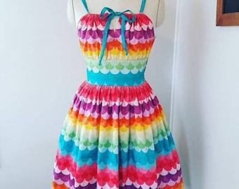 Rainbow Mermaid Dress