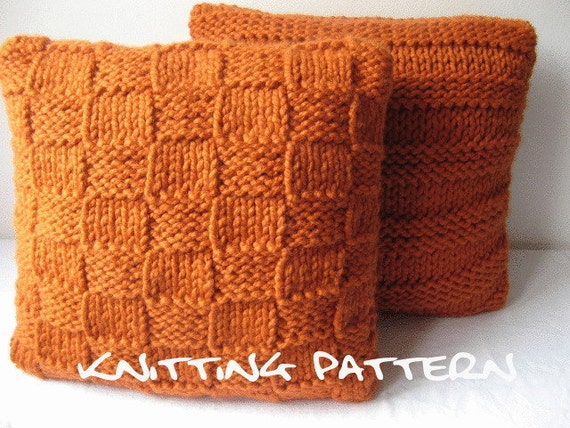 Knitting Pattern Super Chunky Cushion Covers From Laurimuks On