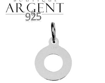 14.3 X 11.3 mm 925 Silver Pendant circle