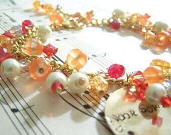 RESERVED FOR AMANDA Personalized Theme Bracelet