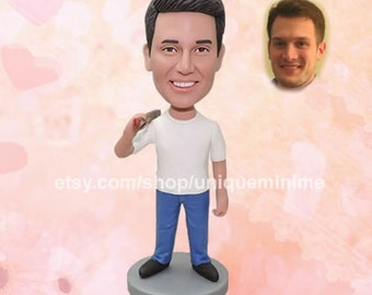 Best Friend Gift, Best Friend BFF Gift Best Friend   Birthday Gift New Item Custom Figurine or Bobblehead   dolls