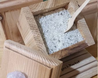 Bath Salt in Cedar Box