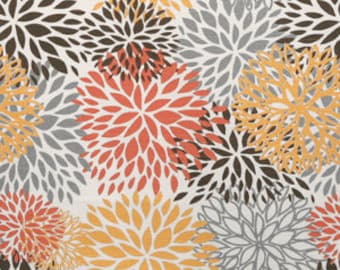 "1 yard ""Bloom"" 54"" LAMINATED home decor fabric"