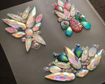 Handmade Festival body pieces