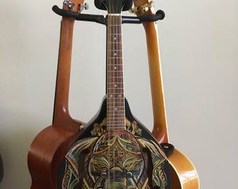 Hand painted Ganesh Washburn Mandolin
