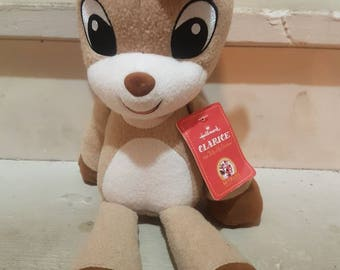 Rudolph the red nose reindeer Singing Clarice Plush