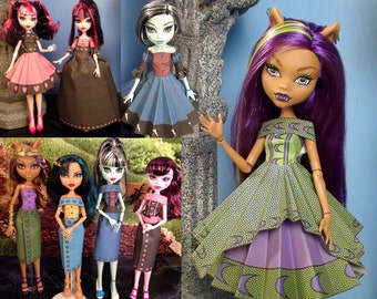 Diana Printable Doll Clothes - Makes great Monster High Clothes!