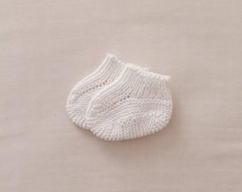 Baby slippers 100% organic cotton