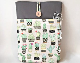 "Succulent MacBook 12 Case, Cactus MacBook Air 11 Case, MacBook Air 11 Sleeve, MacBook 12 Sleeve, Macbook 12 Cover, 11 "" MacBook Case Garden"