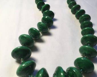 The Green Lynda Necklace