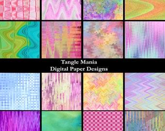 Digital Paper Designs - Variety Pack #2