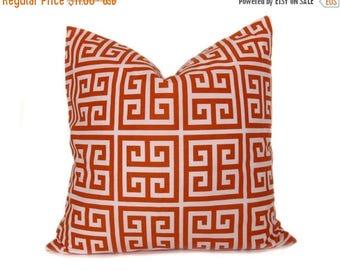 15% Off Sale Orange Throw Pillow orange Pillow covers - Decorative Pillow - Throw Pillow covers - 20x20 Pillow covers - Throw Pillows - Acce