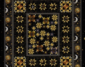 JEWELS Of The UNIVERSE Quilt Pattern    By: Jason Yenter