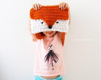 Orange You a Cute Fox Purse Crochet Pattern