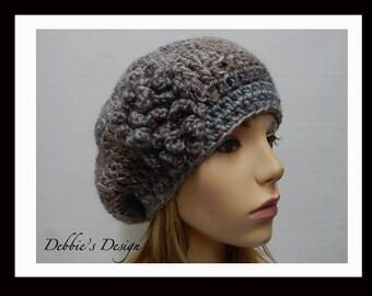 Women's Crochet Cloche-350 Women's Church Hat, Cloche Hats, Crochet Hats, Women's Hats, Downton Abby
