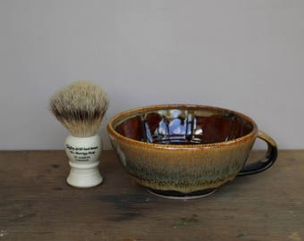 Coffee and Cream Wet Shaving Bowl - UK