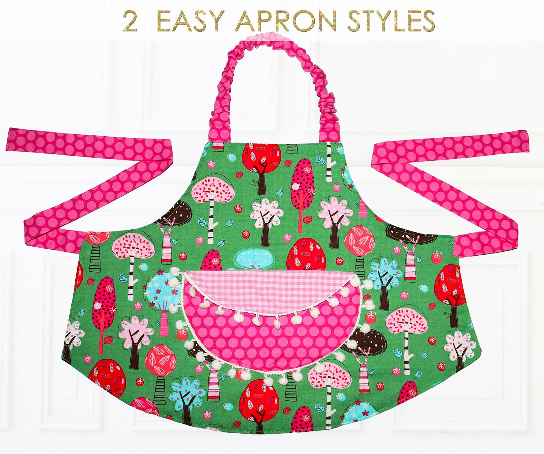 Apron Pattern, Child Apron Pattern, Kids Apron Pattern, PDF Pattern ...