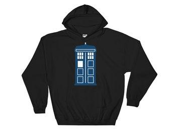 TARDIS- Hooded Sweatshirt