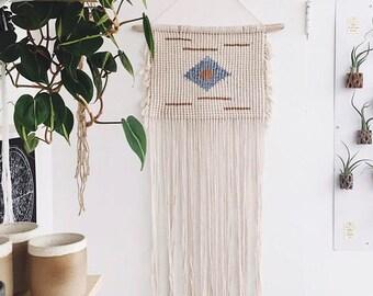 Macrame wall hanging/Macrame/Wall hanging/Wall Decor/Modern Macrame/Weaving/Tapestry/Woven wall hanging