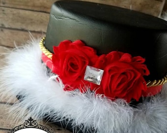 Ringmaster Hat | Top Hat| Circus Hat | Child-Adult listing