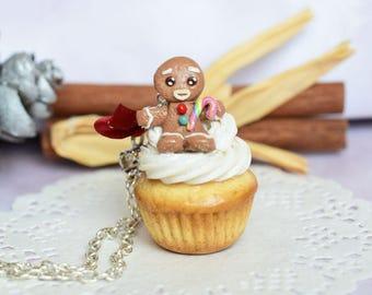 Jewelry greedy cupcake necklace