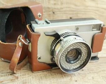 "vintage camera rare camera / collectible camera / retro camera / Old Vintage Soviet  Camera "" Zorkiy - 10 ""  with lens Industar - 63"