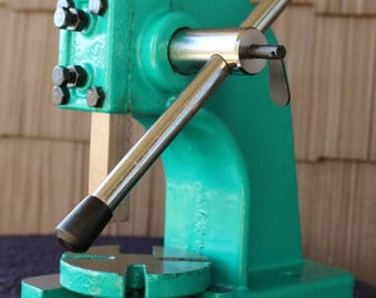 Supply Guy 1/2 Ton Arbor Press for Metal Stamping - Metal Stamping Tool - Keep Stampings Consistent and Even - SGArbor