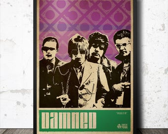 The Damned Punk Art Poster