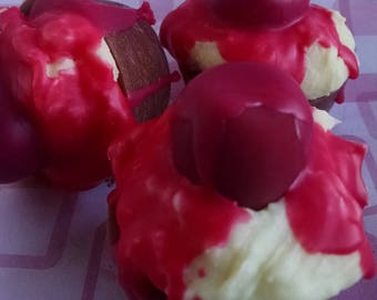Chocolate Cherry, Dessert Melts, Scented Wax, Warmer Wax, Wax Food, Soy Tarts, Sweet Treat, Highly Scented, Fake Cupcake, Handpoured Wax