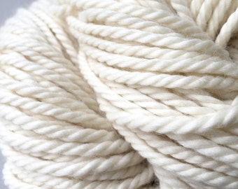 Yakino - Bulky Luxury Yarn Superfine Merino Yak undyed 100g Knitting Crochet