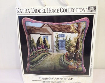 English Garden Needlepoint Kit, Erica Wilson