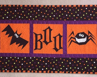 BOO Collection of 6 Halloween Paper Pieced Block Patterns in PDF