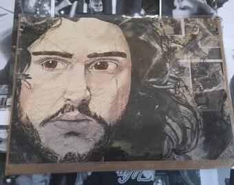 Jon Snow (Kit Harington) - Greeting Card