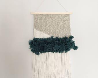 Handwoven Wall Hanging- John 4:14, OK weaving